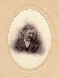 Postmortem of William Henry Johnson who died Nov 30, 1907. Formal postmortem pictures were not uncommon in the 19th and early 20th century.