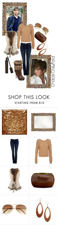 """""""Chace Crawford"""" by littlediva ❤ liked on Polyvore featuring WALL, Paige Denim, 3.1 Phillip Lim, Le Sentier, Steve Madden, MNG by Mango, H&M, Via Nativa and Luna Twilight"""