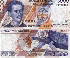 5000 sucres Ecuador