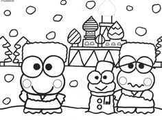 Download 25 Best Coloring pages images   Coloring pages, Hello kitty coloring, Hello kitty