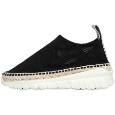 Kenzo Women 50mm K-lastic Mesh Sneakers (4.576.630 IDR) ❤ liked on Polyvore featuring shoes, sneakers, black, mesh sneakers, kohl shoes, rubber sole shoes, elastic shoes and mesh shoes