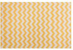 Mau Flat-Weave Rug, Yellow on shopstyle.com