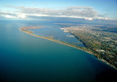 Beautiful Presque Isle, Erie, PA. I spent many many days exploring this whole area as a kid.
