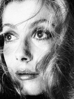 Catherine Deneuve by Richard Avedon | Los Angeles, September 1968