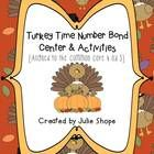 This is a great way to work on the Common Core Standard K.OA.3! Students will have lots of fun working with numbers using this Turkey themed activi...