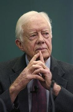 Jimmy Carter. Governor, President, Diplomat, Statesman, Christian. A peanut farmer who could talk to the farmers in Egypt about their crops, then go negotiate peace with Sadat and Begin. He embodies integrity. Makes me so proud to be Southern.