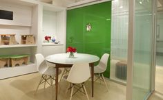 Vitracolor Magnetic Markerglass by Skyline Design, Chicago.