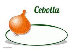 Descarga este cartel de precios y pon el precio a las cebollas de tu frutería. Realiza tu mejor oferta hoy!