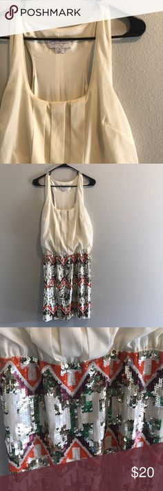 Jessica Simpson sequence midi dress Cute sequence dress. Never worn! Jessica Simpson Dresses Midi