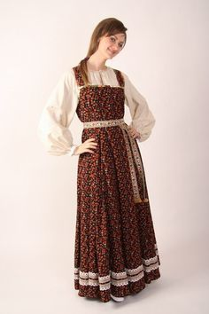 русское народное платье Modest Outfits, Dress Up, Cosplay, Culture, Europe, Inspiration, Clothes, Image, Fashion