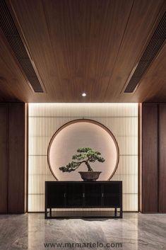 Interior designs inspired by Zen