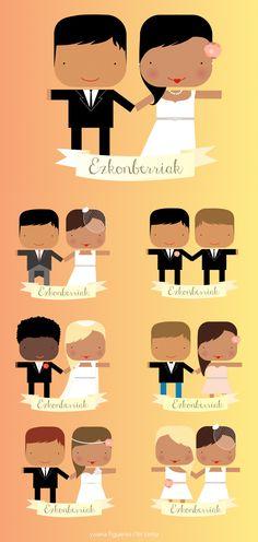 ilustraciones de yoana figueras para novios
