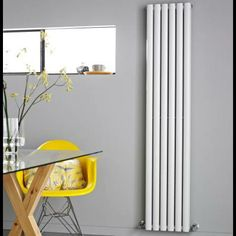 Brolin Radiators Malmo Vertical Single Flat Panel Radiator Cast ...