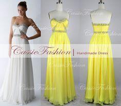 2014 Evening DressA Line Strapless Sweetheart by CassieFashion, $159.00