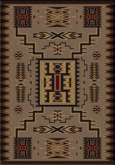RugStudio presents American Dakota Voices Storm Catcher Brown Machine Woven, Good Quality Area Rug