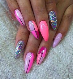 Stiletto nail designs | nail art design ideas