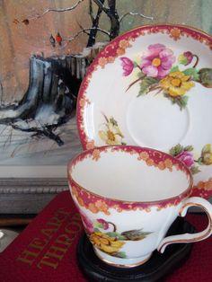 A vintage Shelley teacup.