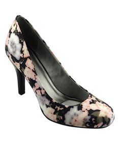 Look at this #zulilyfind! Black Floral Ideall Pump by Mootsies Tootsies #zulilyfinds