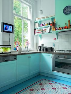Nice Beautiful Kitchen Designs for Small Kitchens Having a small kitchen is not a bad thing. It could be the most beautiful place in your home. However, it's not beautiful anymore when everything ...