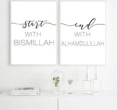 Black And White Wall Art, Black White, Islamic Wall Decor, Islamic Art, Types Of Art Styles, Islamic Posters, Nordic Art, Nordic Style, Wall Art Pictures