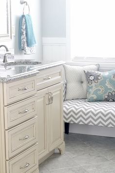 Absolutely GORGEOUS, well-lit, stunning bathroom makeover!