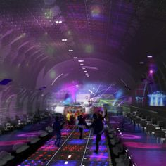 Go swimming, dining, or clubbing in an abandoned Paris metro station