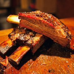Black's Barbecue BBQ beef ribs