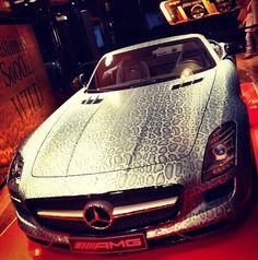 car wrap snake skin foil vinyl Car Stickers, Car Decals, Gta Cars, Gumball 3000, Mercedes Benz Sls Amg, Boat Wraps, R Vinyl, Van Wrap, Custom Wraps