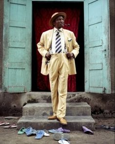 baudouin-mouanda- S.A.P.E = 'is for peace in this world'. The society of tastemakers and elegant people - Congo.