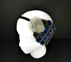 Great Gatsby Headband 20s Flapper Headpiece by FlowerCouture, $30.00