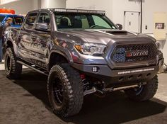 Lifted Toyota