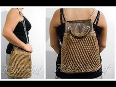 Crochet Polymorphic Bag - YouTube
