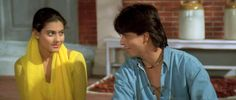 Shahrukh Khan and Kajol - Dilwale Dulhania Le Jayenge - DDLJ (1995)  Twitter / somayesrkajol: @Olivia Gulino SRK & #kajol ...
