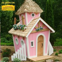 Princess Crooked Playhouse by Kids Crooked House
