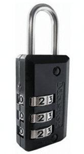 Master Lock Padlock, Set Your Own Combination Luggage Lock