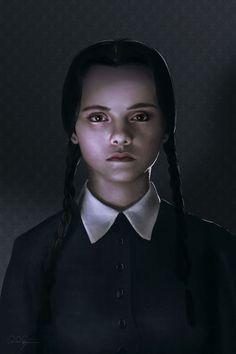 Wednesday Addams by Paul Nojima (mafaka)