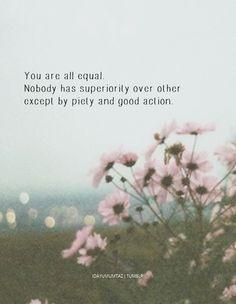 prophet muhammad on equality