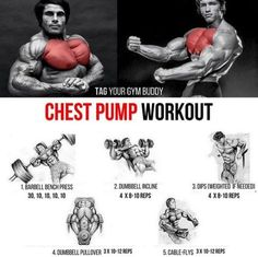 Chest Pump Workout! Tag Your Gym Buddy For Stronger Training