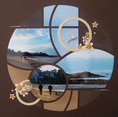 Lets Create With Lyn Holmes – AZZA European Scrapbooking (Perth – Western Australia) Scrapbook Templates, Scrapbooking Layouts, Scrapbook Pages, Disney Scrapbook, Travel Scrapbook, Bilbao, Perth Western Australia, Picture Layouts, Photo Boards