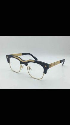 2d43ec10e61 Brand New VERSACE Eyeglasses Frames 3211 GB1 BLACK for Men 100 ...