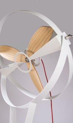 Coup de cœur : un ventilateur minimaliste par Marco Gallegos - Floriane Lemarié