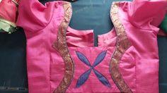 Blouse Neck, Saree Blouse, Patch Work Blouse Designs, Blouse Patterns, Blouse Styles, Ss, Blouses, Boutique, Simple