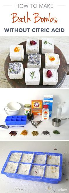 Make Bath Bombs Without Citric Acid