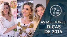As melhores dicas de 2015: 10 melhores dicas domésticas apresentadas por Flávia Ferrari em 2015 no#aDicadoDia . Vem usar bicarbonato e vinagre para facilitar sua vida de dona de casa!