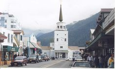 With a population of 8,881 as of 2010, Sitka is the fourth-largest city by population in Alaska. Urban Sitka (Downtown)