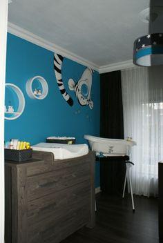 foto van een klant van de babykamer in de kleur tea rose van koeka, Deco ideeën