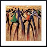 Found it at Wayfair - 'T.G.I.F.' by Monica Stewart Framed Painting Print