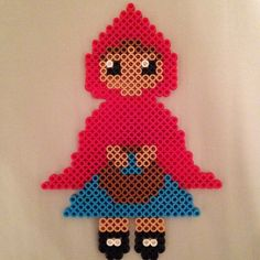 Red Riding Hood perler beads perler beads by danceluver147