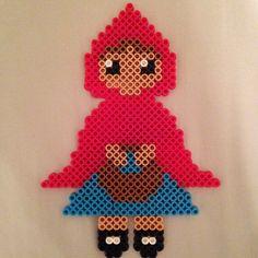 Red Riding Hood perler beads perler beads by danceluver147
