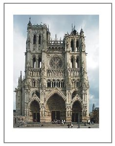 Amien Cathedral- J'adore!  WILL see this amazing example of Gothic Architecture one day!